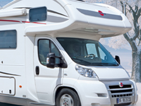7 Simple Steps to protect your motorhome from frost damage.