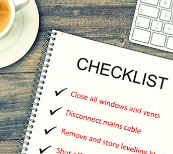 Drive Away Checklist!