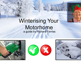Winterize your motorhome -  a guide by Richard Ferris