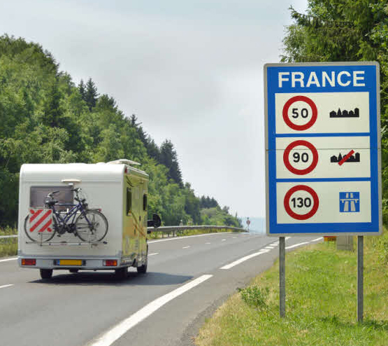 New Driving Limits in France