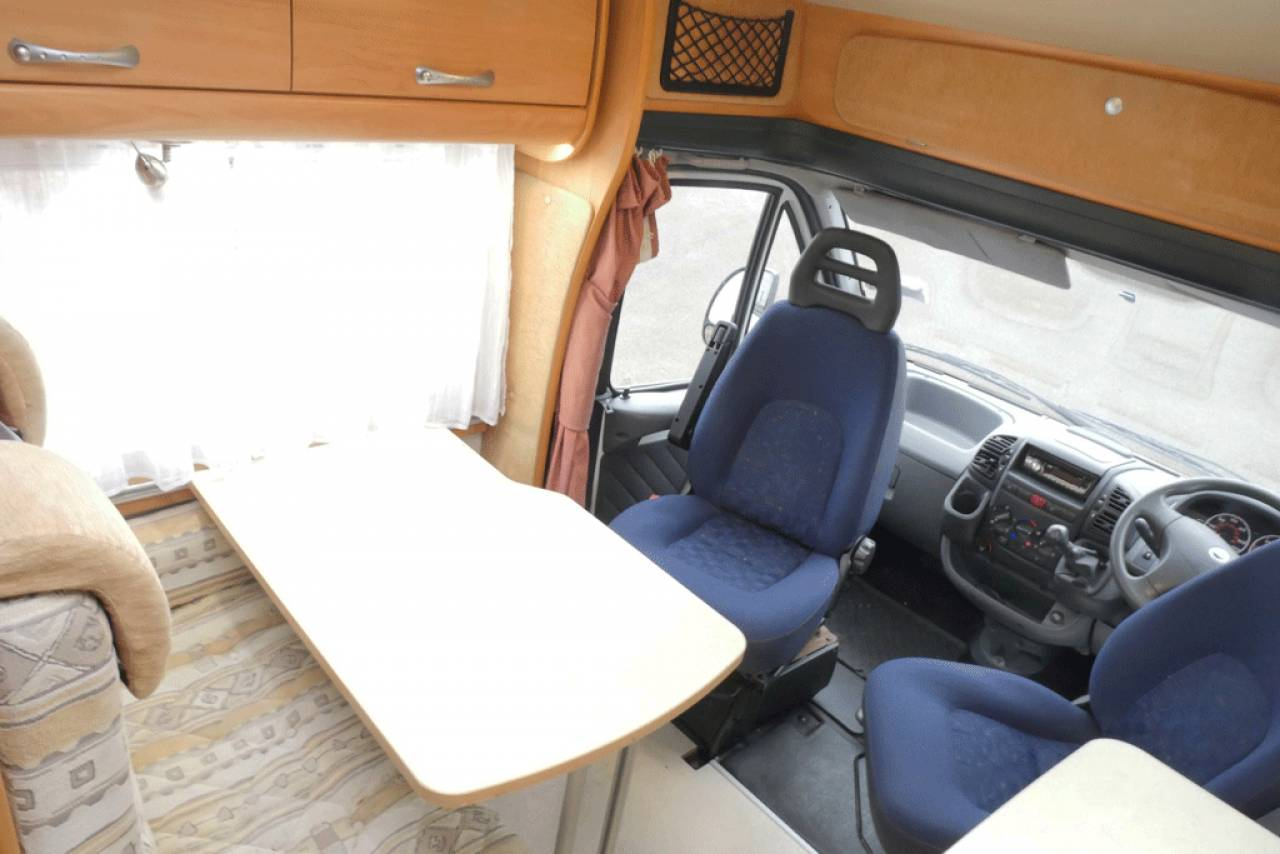 Chausson 05 Swivel captain chairs