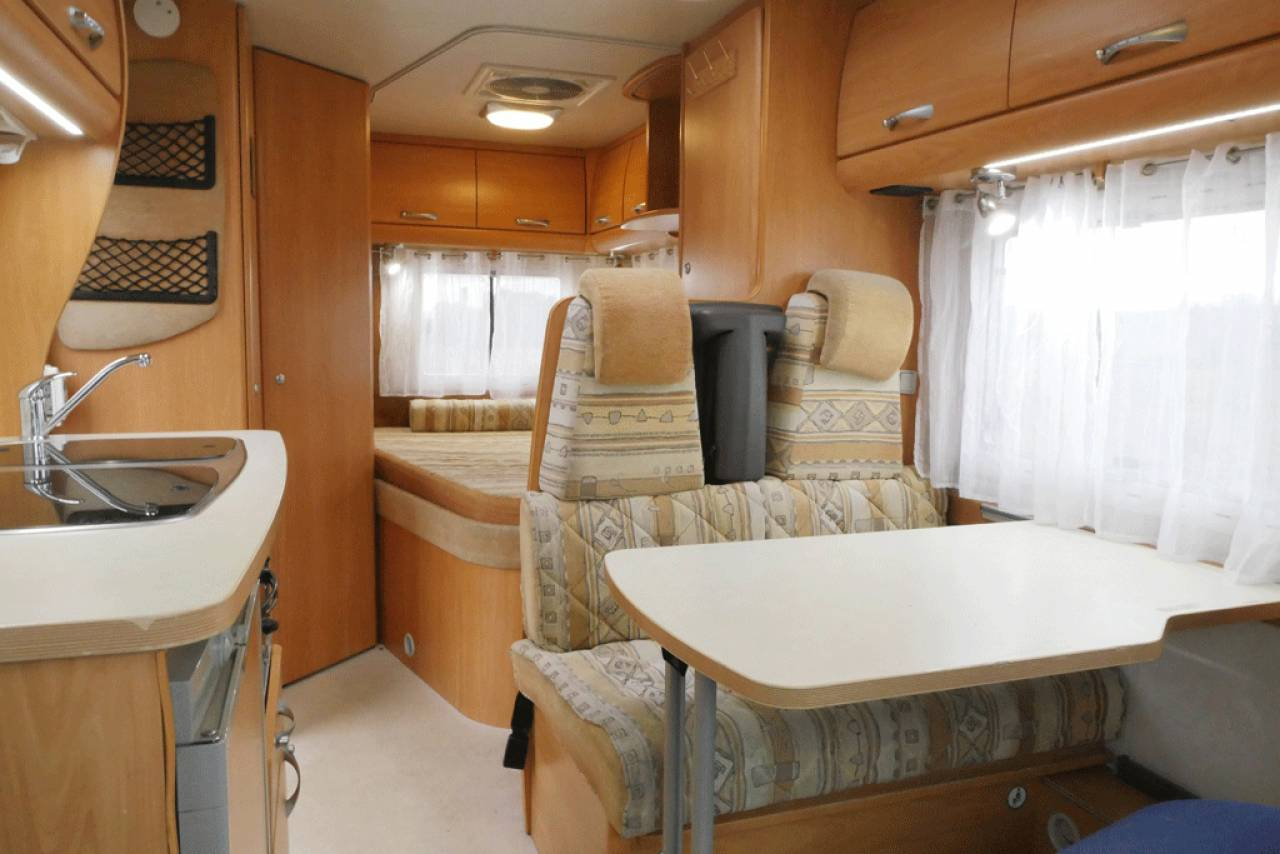Chausson low bed interior